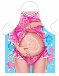 Pregnant Woman Funny Novelty  Apron