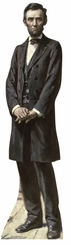 President Lincoln The Gettysburg Address Cardboard Cutout Life Size Standup