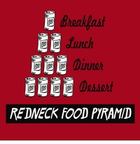 Redneck Food Pyramid Apron