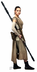 Rey (Star Wars VII: The Force Awakens) Cardboard Cutout Life Size Standup