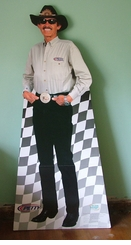Richard Petty The King NASCAR Cardboard Cutout Life Size Standup