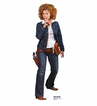 River Song from Dr. Who Cardboard Cutout Life Size Standup