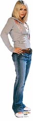 Rose Tyler from Dr. Who Cardboard Cutout Life Size Standup