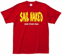 Sail Nkaed T-Shirt