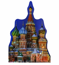Saint Basil's Cathedral Cardboard Cutout Life Size Standup