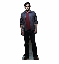 Sam Winchester from Supernatural Cardboard Cutout Life Size Standup