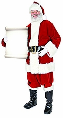 Santa with Small Sign Cardboard Cutout Life Size Standup