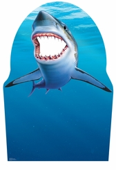 Shark Cardboard Cutout Life Size Stand-In