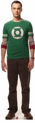 Sheldon from The Big Bang Theory Cardboard Cutout Life Size Standup