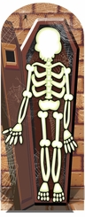 Skelton Cardboard Cutout Life Size Stand-In