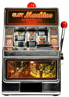 Slot Machine Coin Bank 7.5