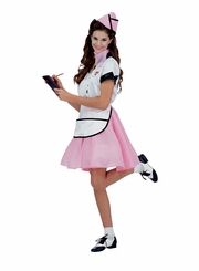 Soda Pop Girl Cardboard Cutout Life Size Standup