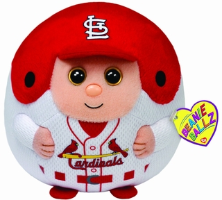 St. Louis Cardinals Ty Beanie Ball - Click to enlarge