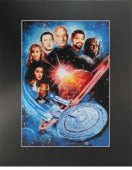 "Star Trek Picture 11"" X 15"" SUPER SALE"
