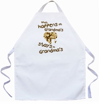 Stays at Grandma's Kids Apron