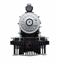 Steam Locomotive #7 Cardboard Cutout Life Size Standup