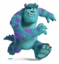 Sulley � Disney Pixar Monsters University Cardboard Cutout Life Size Standup
