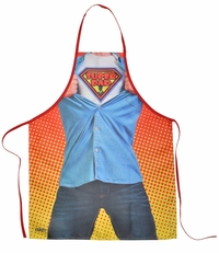 Super Dad Funny Novelty Apron