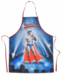Super David Funny Novelty Apron