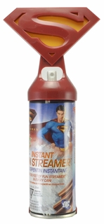 Superman Silly party  string  Returns Instant Fun Streamer Action Kit with Belt Clip - Click to enlarge