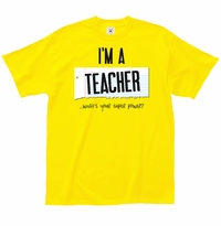 Teacher Super Power T-Shirt