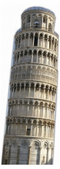 The Leaning Tower of Pisa Cardboard Cutout Life Size Standup