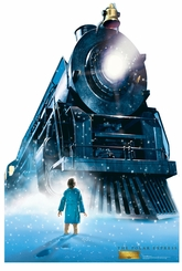 The Polar Express Train Cardboard Cutout Life Size Standup