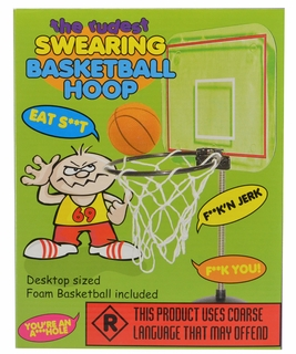 The Rudest Swearing Basketball Hoop - Click to enlarge