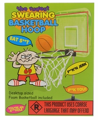 The Rudest Swearing Basketball Hoop