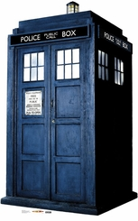 The Tardis from Dr. Who Cardboard Cutout Life Size Standup