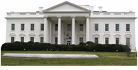 The White House Cardboard Cut Life Size Standup