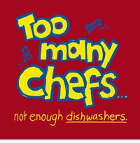 Too Many Chefs Apron