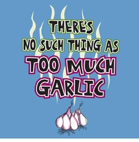 Too Much Garlic Apron
