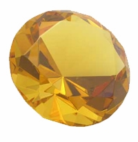 Topaz 3.15 Inch Diamond 80mm