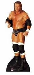 Triple H WWE Wrestling Cardboard Cutout Life Size Standup