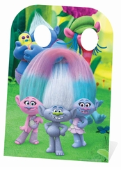 Trolls Group Guy Stand-In Cardboard Cutout