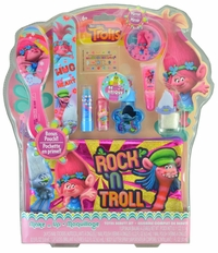 Trolls Rock n' Troll 10 Piece Total Beauty Makeup Set