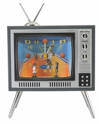 TV Sports Alarm Clock - Basketball