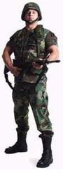 U.S. Soldier Cardboard Cutout Life Size Standup