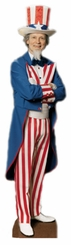 Uncle Sam Cardboard Cutout Life Size Standup