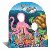 Under the Sea Cardboard Cutout Life Size Stand-In