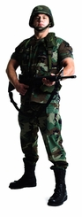 US Soldier Cardboard Cutout Life Size Standup