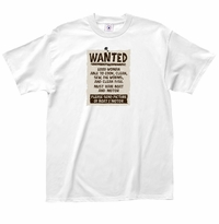 Wanted - Fishing T-Shirt