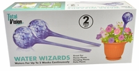 Water Wizards Plant Watering Globes (2 Piece Set)