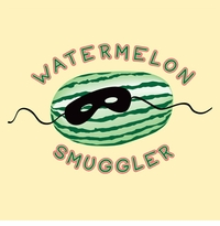 Watermelon Smuggler Maternity Nightshirt