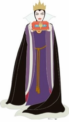 Wicked Queen From Snow White and the Seven Dwarves Cardboard Cutout Life Size Standup