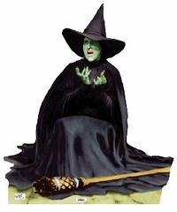Wicked Witch Melting Wizard of Oz Cardboard Cutout Life Size Standup