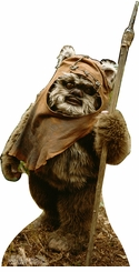 Wicket from Star Wars Return of The Jedi Cardboard Cutout Life Size Standup