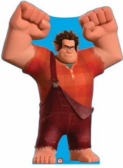Wreck-It Ralph from Disney's Wreck-It Ralph Cardboard Cutout Life Size Standup
