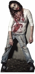 Zombie Girl Cardboard Cutout Life Size Standup